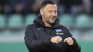 Pál Dárdai tritt mit Hertha BSC gegen die TSG Hoffenheim an
