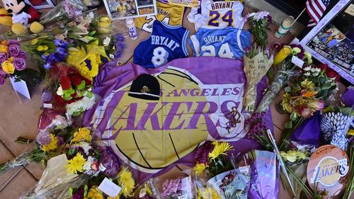 """""""8"""" und """"24"""": Die Rückennummern von Kobe Bryant."""