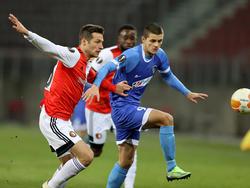 Jovelic gegen Feyenoord