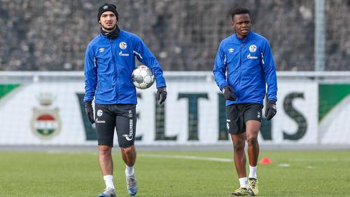 Ahmed Kutucu (l.) könnte und Rabbi Matondo wird den FC Schalke 04 wohl verlassen