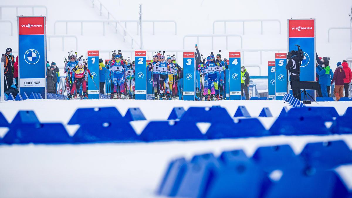 Coronafälle überschatten Biathlon-Weltcup in Oberhof