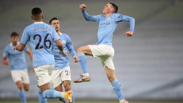 Phil Foden traf für Manchester City