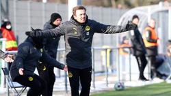 Enrico Maaßen will mit der BVB-Reserve aufsteigen