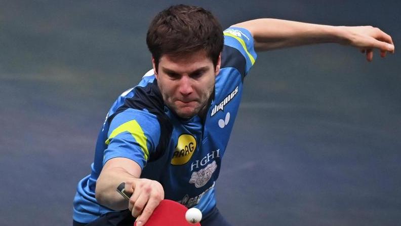 Dimitrij Ovtcharov setzte sich in Doha durch