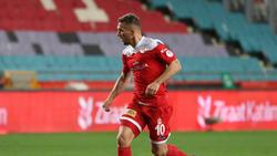 Lukas Podolski unterlag mit seinem Team im türkischen Pokalfinale