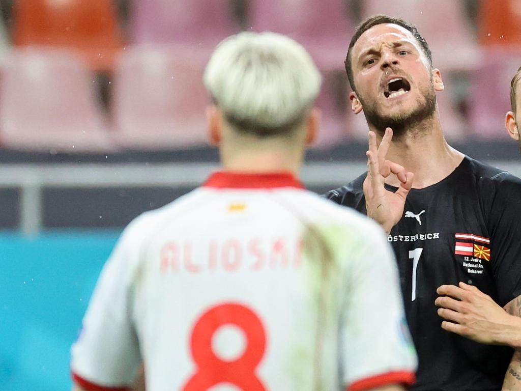 Arnautovic und Alioski hatten nach dem Spiel einiges zu besprechen
