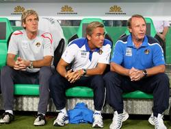 Das deutsche Trainerteam bei Aserbaidschan