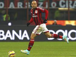 Erfolgreich operiert: Milans Verteidiger Alex