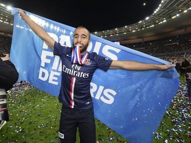 """Je suis Paris"" sustituye al ""Fly Emirates"" en la camiseta del PSG. (Foto: Getty)"