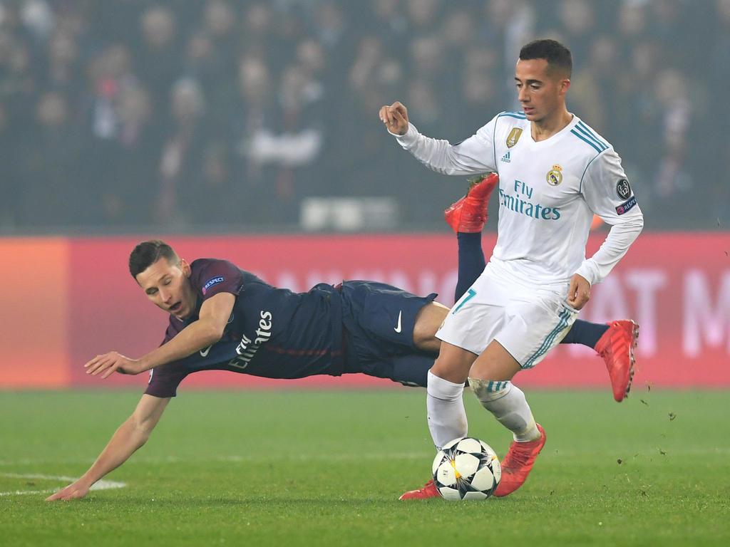 Julian Draxler (l.) konnte die Niederlage gegen Real Madrid nicht mehr abwenden