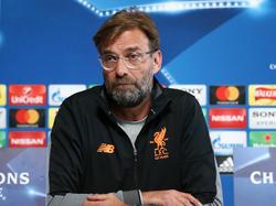 Jürgen Klopp träumt vom Champions-League-Halbfinale mit dem FC Liverpool