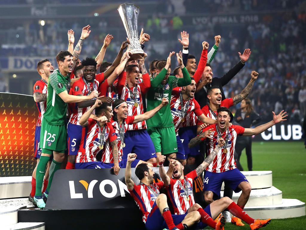 Die Rojiblancos feiern ihren dritten Europa-League-Triumph
