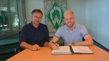 Davy Klaassen (r.) verstärkt den SV Werder (Bildquelle:WERDER.DE)