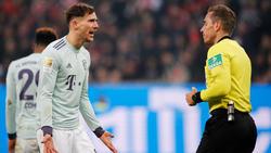 Leon Goretzka erzielte das einzige Tor für den FC Bayern
