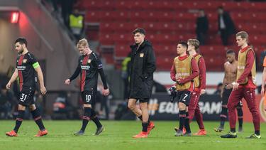 Leverkusen schied am Donnerstag aus der Europa League aus