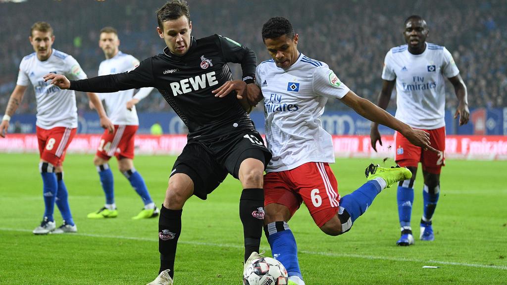 Der HSV will gegen den 1. FC Köln einen Coup landen