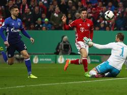 Robert Lewandowski war beim Sieg der Bayern einmal mehr der gefeierte Mann