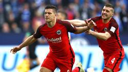 Luka Jovic und Ante Rebic (r.) konnten die Bosse des FC Bayern nicht überzeugen
