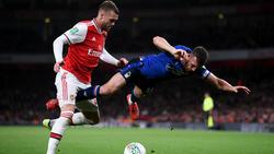 Der FC Arsenal steht im League Cup in der nächsten Runde