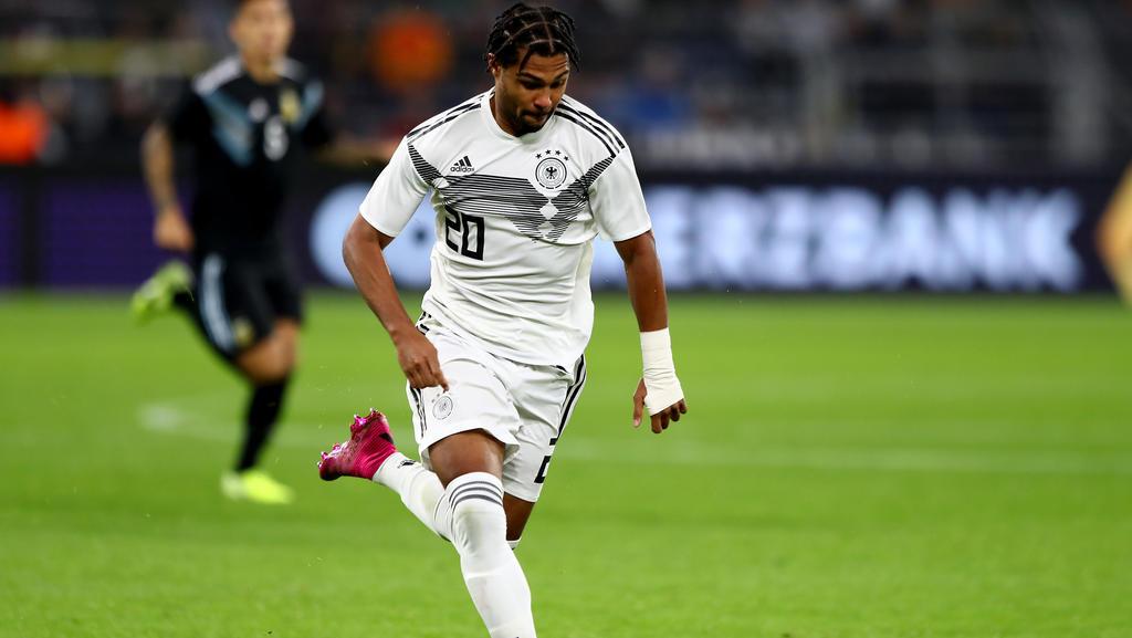 Serge Gnabry vom FC Bayern hat einen DFB-Rekord von Miroslav Klose übertroffen