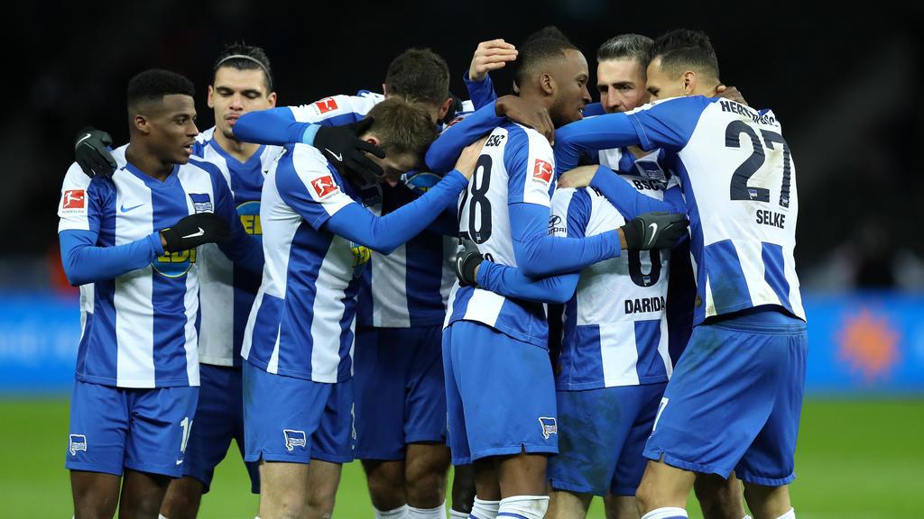 Wichtiger Heimdreier für Hertha BSC