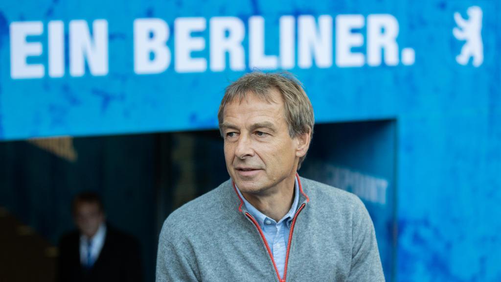 Klinsmann begeistert Hertha BSC