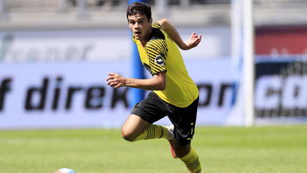 Giovanni Reyna steht beim BVB bis 2025 unter Vertrag