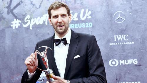 Wurde in Berlin ausgezeichnet: Dirk Nowitzki