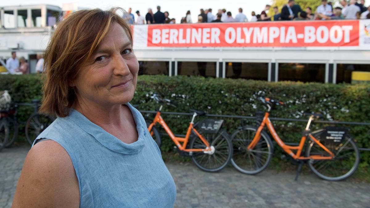 Erfolgreichste deutsche Sportlerin bei Olympischen Spielen: Birgit Fischer