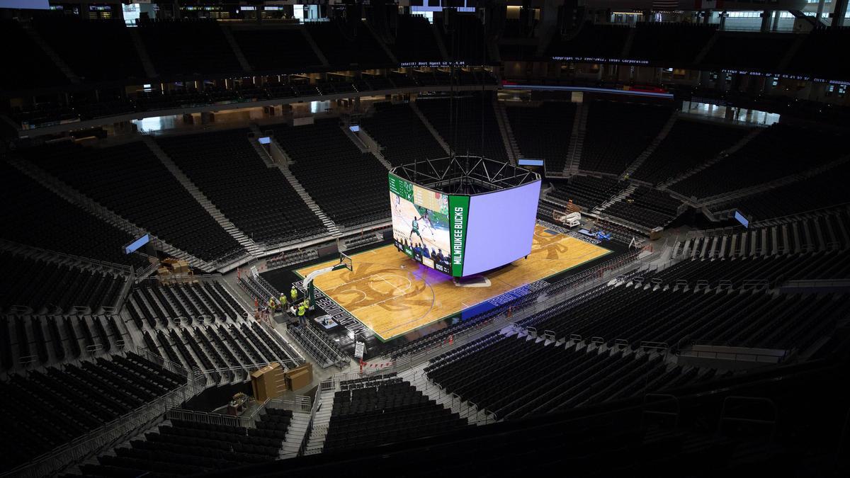 Die Milwaukee Bucks müssen vorerst auf Zuschauer verzichten