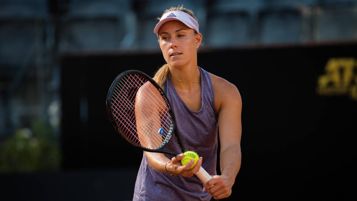 Angelique Kerber hatte gegen Katerina Siniakova keine Chance