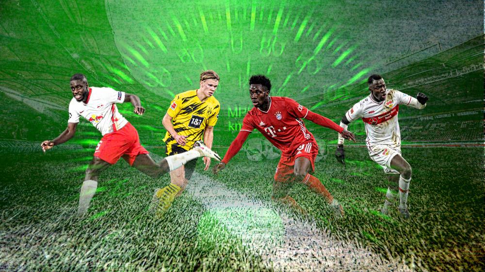 Mit Stars von BVB und FC Bayern: Die 10 schnellsten Spieler der Bundesliga
