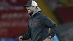 Liverpool-Manager Jürgen Klopp bejubelt das vorzeitige Weiterkommen
