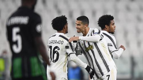 Cristiano Ronaldo brachte Juventus Turin auf Kurs