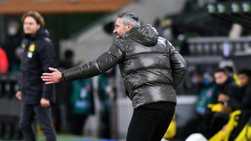 Marco Rose muss mit Gladbach im DFB-Pokal gegen den BVB ran
