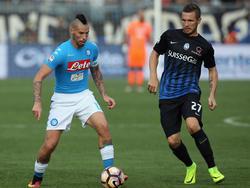 El Nápoles sufrió su primer derrota en esta Serie A en Bérgamo. (Foto: Getty)