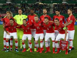 Das ÖFB-Team gegen Uruguay