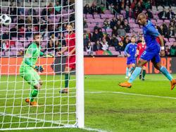 Ryan Babel, ex del Deportivo, marcó de cabeza el segundo gol de Portugal. (Foto: Getty)