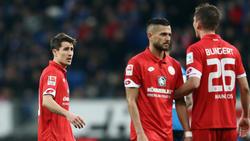 Niko Bungert (r.) bleibt Spielführer beim FSV Mainz