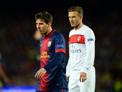 David Beckham va detrás de Messi para ficharlo. (Foto: Getty)