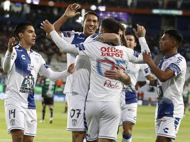 El Pachuca sueña ya con alzar el trofeo. (Foto: Imago)