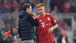 Niko Kovac und Joshua Kimmich wollen mit dem FC Bayern einen Heimsieg einfahren