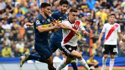 Im Superclásico-Hinspiel zwischen Boca Juniors und River Plate gab es keinen Sieger