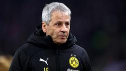 BVB-Trainer Lucien Favre lässt sich in der Meisterfrage nichts einreden