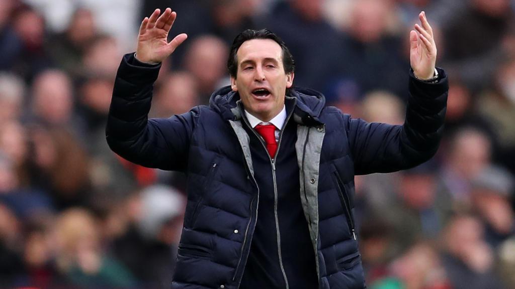 Unai Emery, Trainer vonArsenal, hat im Spiel gegen West Ham United auf den Einsatz von Mesut Özil verzichtet