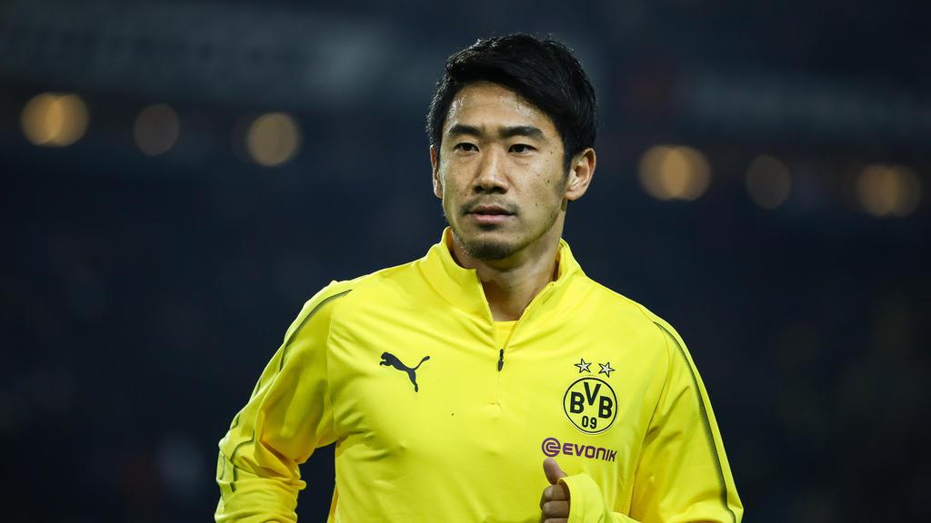 Shinji Kagawa will den BVB noch im Winter verlassen