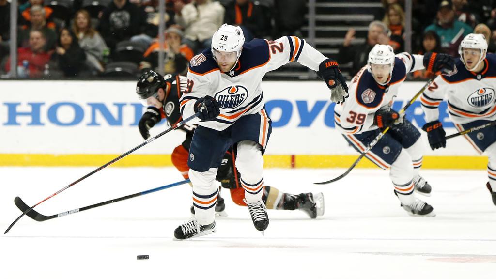 Leon Draisaitl konnte mit den Edmonton Oilers einen Sieg feiern