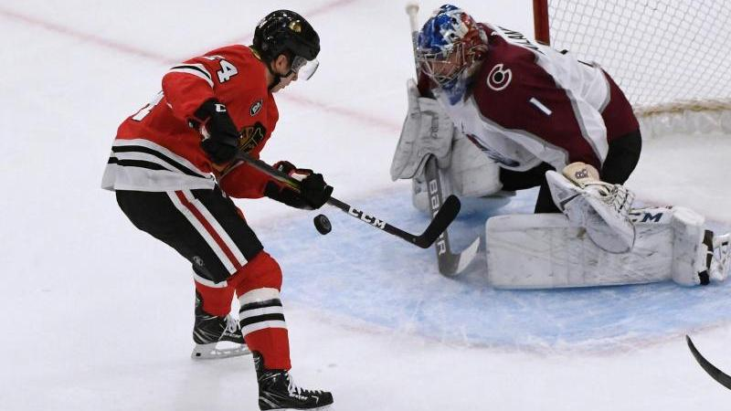 Blackhawks-Spieler Dominik Kahun blieb ohne Tor