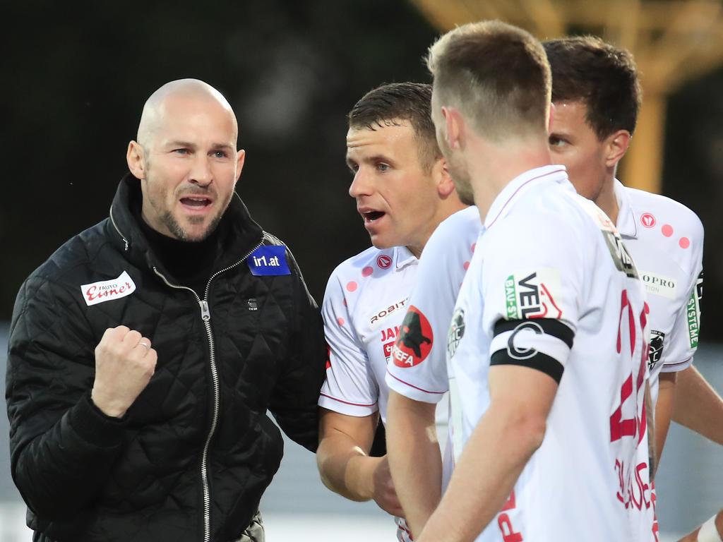 WAC-Trainer Christian Ilzer will gegen Admira drei Punkte