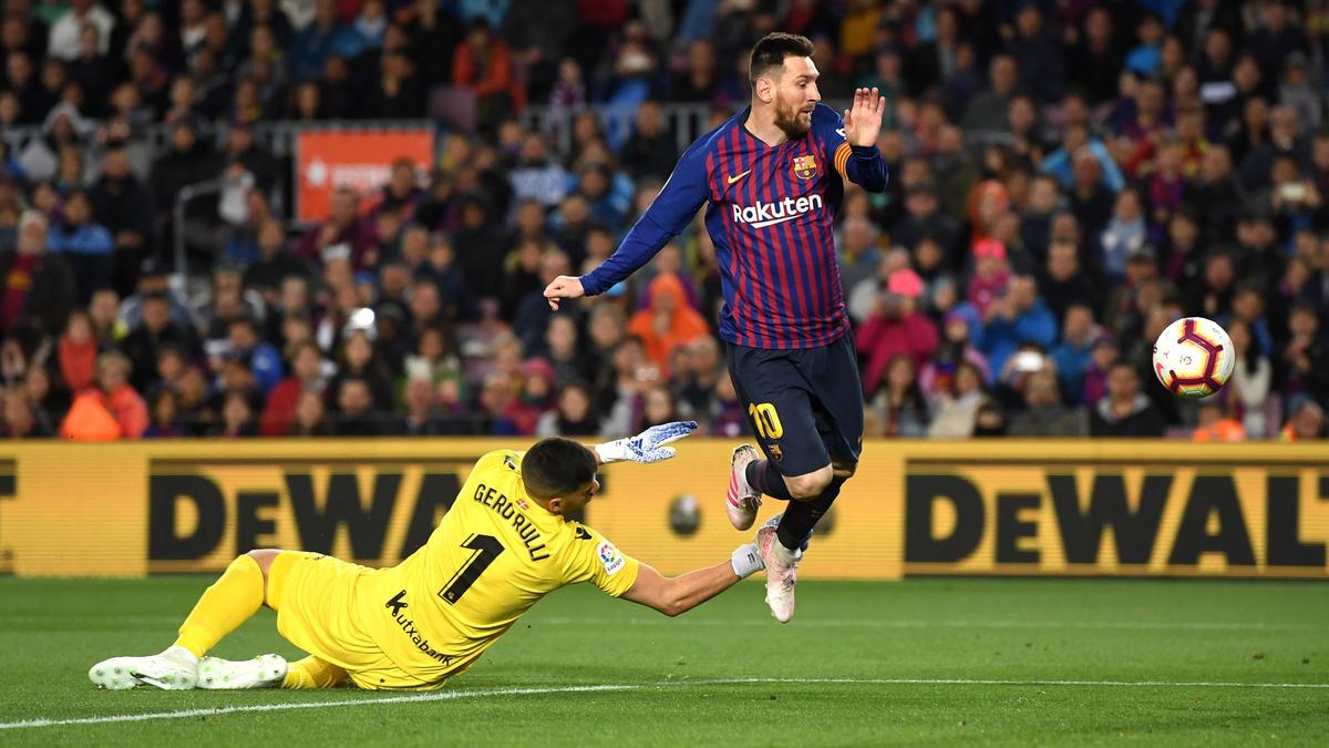 Lionel Messi traf am Samstagabend zwar nicht selbst, dennoch siegte Barca verdient